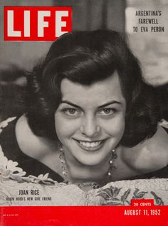 "Life Magazine cover, ""Joan Rice in Robin Hood"", August 11, 1952"
