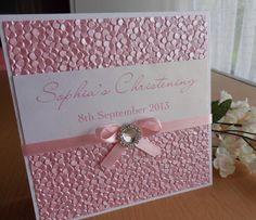 'Bella' Christening Invitation