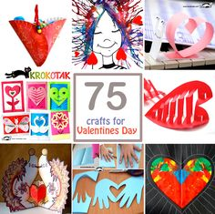 Valentines Day - kids crafts