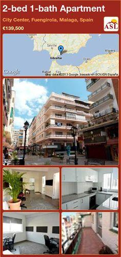 2-bed 1-bath Apartment in City Center, Fuengirola, Malaga, Spain ►€139,500 #PropertyForSaleInSpain
