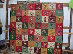 Handmade romanian traditional rug - Covor romanesc traditional lucrat manual - Canada Traditional Rugs, Furniture Design, Weaving, Presents, Textiles, Quilts, Blanket, Holiday Decor, Carpets