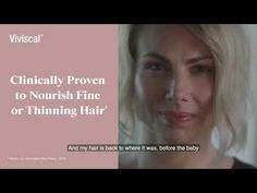 Viviscal Reclaim Campaign Post Natal Postpartum Hair Loss, Campaign, Youtube, Xmas, Youtubers, Youtube Movies
