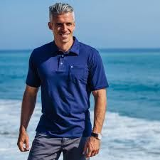 silver fox male - Google Search Older Male Models, Gray Hair, Polo Shirt, Polo Ralph Lauren, Fox, Google Search, Grey, Silver, Mens Tops