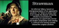 Fishermagical Thought: Strawman