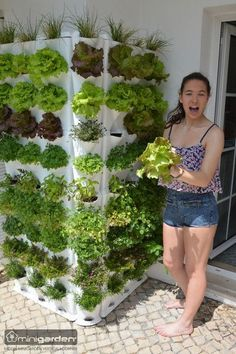Ein vertikaler Gemüsegarten zu Hause - Minigarden machts möglich. Check it out! #MmhDelicious #verticalfarmimg