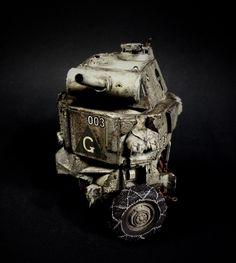 """MondMachtModul"" 3M SciFi Kit Bash Scratch Build Ma.K. SF3D What if..?! WWIII Steampunk"