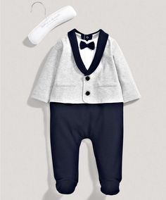 Boys Welcome to the World Mock Suit Set - All Boys - Mamas & Papas