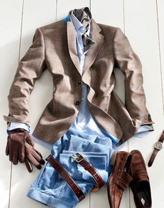 Nice mix of blues and browns.