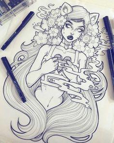Little girl Ilustração