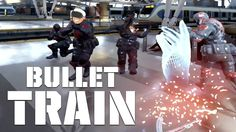 Taking A Trip Inside The Matrix With Bullet Train In The Oculus Rift Wit...