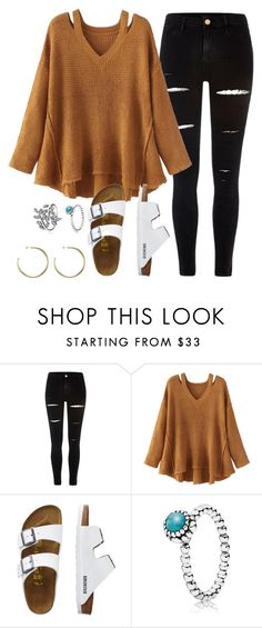 """hippppp"" by carolina-prepster ❤ liked on Polyvore featuring River Island, WithChic, TravelSmith and Pandora"