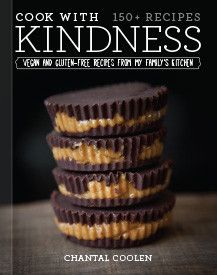 Chantal Coolen's first cookbook, Cook with Kindness.