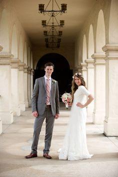Tanner & Kylie's Wedding   San Diego Temple & Balboa Park