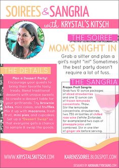 Mom's Night In Party by krystalskitsch, via Flickr