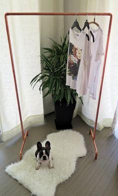 Industrial Copper Pipe Clothing/Garment Rack [Custom orders]
