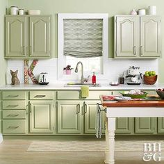 The pros can give specific advice for painting kitchen cabinets if they know more about your project.