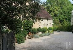 a 17th century home for sale in normandy - MY FRENCH COUNTRY HOME I like the use of virginia creeper on the exterior