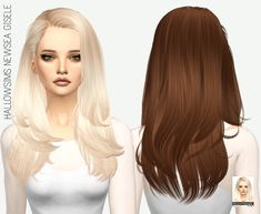 MISSPARAPLY   [TS4] HALLOWSIMS NEWSEA GISELE: SOLIDS 64 colors ...