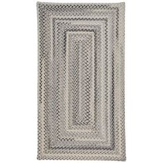 "Capel Tooele Grey Area Rug Rug Size: Oval 9'2"" x 13'2"""
