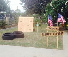 Boot Camp Obstacle Course