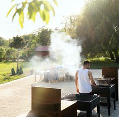 Husby Barbecue Area « Landscape Architecture Platform | Landezine Barbecue Area, Landscape Architecture, Outdoor Decor, Platform, Home Decor, Bar Grill, Decoration Home, Room Decor, Heel