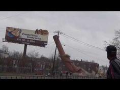 Lockland Smokestack Demolition - Old Stearns & Foster Smokestack - YouTube