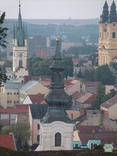 View from the south side of Nitra Castle, Slovakia Iberian Peninsula, Archipelago, Countries Of The World, Lisbon, Paris Skyline, Cool Pictures, Places To Go, Spain, Around The Worlds