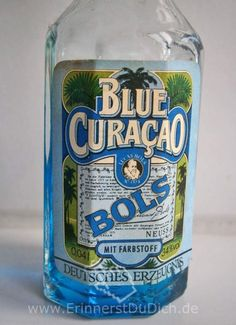 Blue Curacao, Curacao Drink, Good Old Times, The Good Old Days, Tante Emma Laden, Feeling Sick, My Youth, My Childhood Memories, Baby Cats