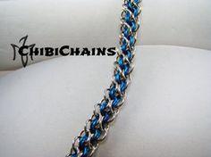 Bracelet - Abhainn by Chibichains #Chainmail #chainmaille #Abhainn #bracelet #Chibichains