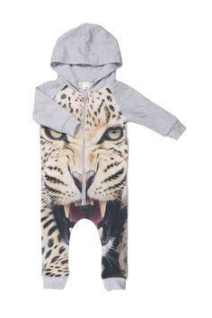 Popupshop Leopard Hoodie Suit | Funky Kids Clothes | Tiny Style | Australia