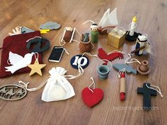 25 Days of Christ. Ornaments and stories to teach about our Savior Jesus Christ.