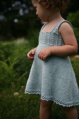 Dress. Petite Purls  12,18, 24, 2T