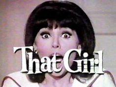 THAT GIRL, opening theme. As you travel and live and walk around and rule the scene, wherever you are, this should be the theme music in your head. Whatever you think about this show (Marlo Thomas was the only good thing about it, really) or others of its era, the theme music from shows of this period was just superior.