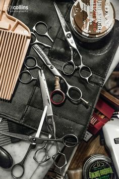 Barbering tools...photo by Tim Collins