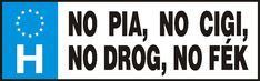 Vicces rendszámtábla, No pia, no cigi, no drog, no fék Humor, Cheer, Humour, Jokes, Funny Jokes
