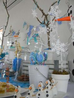 Frozen Birthday Party Ideas | Photo 3 of 41 | Catch My Party
