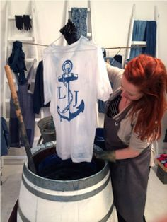 Celia Geraedts long john blog shirts dip dye natural indigo pike brothers collabo tshirt amsterdam limited edition one of a kind workshop Blue Print japan style wouter munnichs (6)