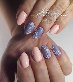 Nail Art Design: pink and purple nails Fancy Nails, Love Nails, Trendy Nails, Pink Manicure, Gel Nails, Purple Nails, Fabulous Nails, Gorgeous Nails, Spring Nails