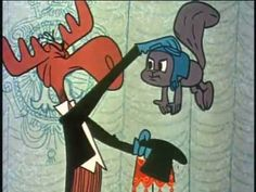 """""""Rocky And Bullwinkle Show"""" from 1962"""