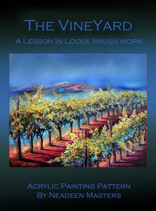 How to Paint a Vineyard - Acrylic Painting Techniques Painting Techniques Art, Easy Canvas Painting, Acrylic Painting Techniques, Online Art Classes, Learn To Paint, Learn Painting, Online Painting, Texture Painting, Painting Patterns