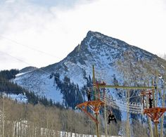Zipline tours at #CrestedButte #Mountain Resort. The resort's Adventure Center provides #winter #familyfun with or without #skiing!