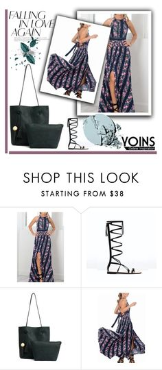 """YOINS 12"" by melisa-hasic ❤ liked on Polyvore featuring Stila and yoins"