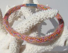 Sweater style kumihimo bracelet with by SweetEscapeBracelets, $7.49