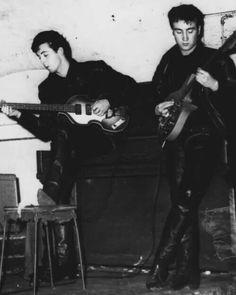 Beatles - Paul and John - Cavern Club