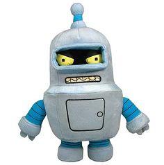 Futurama Series 1 Bender Plush