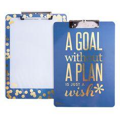 Good to Go™ - metallic gold - clipboard