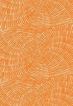 Trina Turk for Schumacher Sonriza Print Orange Indoor/Outdoor - Color Palette - Orange geometric pattern, seamless pattern design, boho style, Summer. Textures Patterns, Fabric Patterns, Print Patterns, Design Patterns, Color Patterns, Orange Fabric, Orange Color, Orange Art, Orange Yellow
