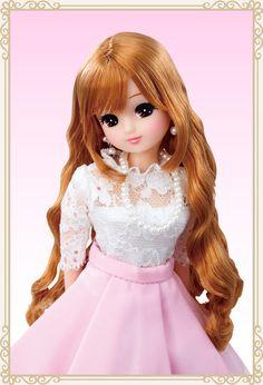 黒目がちなアイメイクにフレンチピンクのリップメイクがポイントです。 Cute Cartoon Pictures, Cute Cartoon Girl, Beautiful Barbie Dolls, Pretty Dolls, Blythe Dolls, Girl Dolls, Cute Girl Hd Wallpaper, Barbies Pics, Indian Actress Images