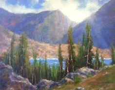 How Glorious A Greeting The Sun Gives The Mountains | John P. Weiss Journal