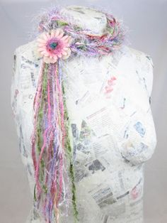Spring is a beautiful time of year. Here's one of the Cocktail Scarves from my spring collection. To buy this scarf, visit my website: http://www.olgasnyder.com/337429/yarn-cocktail-scarves/